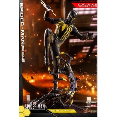 Figurine Marvel's Spider-Man Video Game Masterpiece Spider-Man Anti-Ock Suit Deluxe 30cm