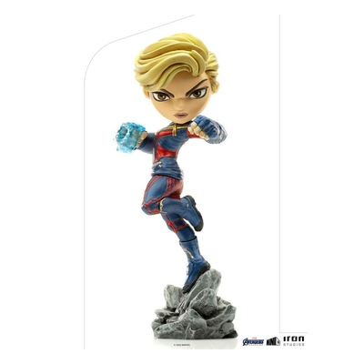 Figurine Avengers Endgame Mini Co. Captain Marvel 18cm