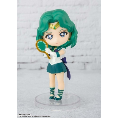 Figurine Sailor Moon Eternal Figuarts mini Super Sailor Neptune Eternal Edition 9cm