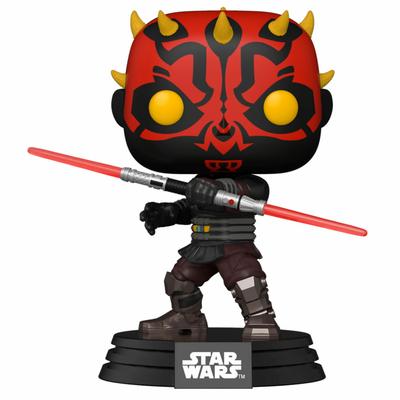 Figurine Star Wars Clone Wars Funko POP! Star Wars Darth Maul 9cm