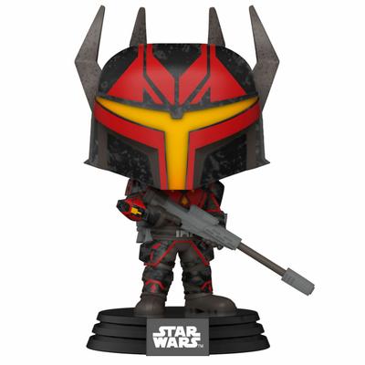 Figurine Star Wars Clone Wars Funko POP! Star Wars Darth Maul's Captain 9cm