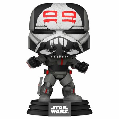 Figurine Star Wars Clone Wars Funko POP! Star Wars Wrecker 9cm