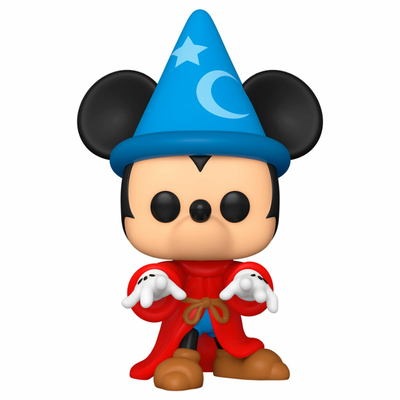 Figurine Fantasia 80th Anniversary Funko POP! Disney Sorcerer Mickey 9cm