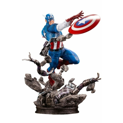 Statuette Marvel Comics Fine Art Captain America 36cm