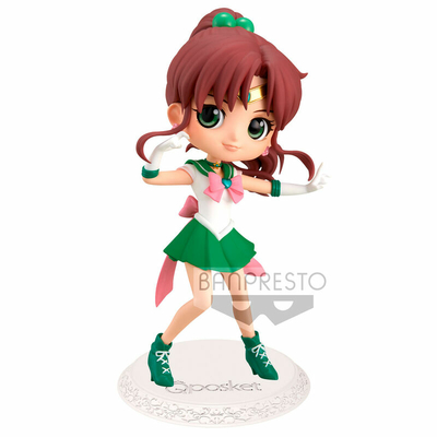 Figurine Sailor Moon Eternal The Movie Q Posket Super Sailor Jupiter Ver. A 14cm