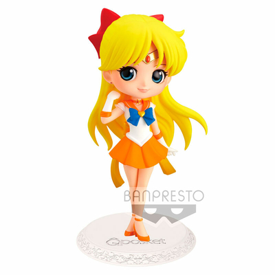 Figurine Sailor Moon Eternal The Movie Q Posket Super Sailor Venus Ver. A 14cm