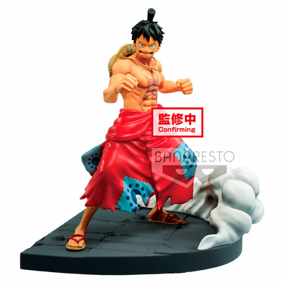 Statuette One Piece Log File Selection Worst Generation Monkey D. Luffy 13cm