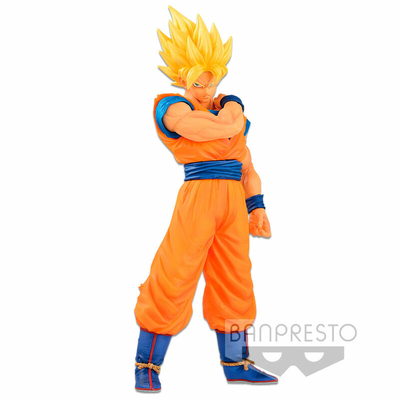 Figurine Dragon Ball Z Resolution of Soldiers Super Saiyan Goku 18cm