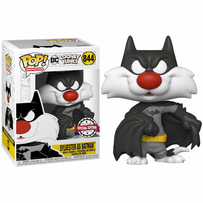 Figurine Looney Tunes Funko Pop! Sylvester as Batman 9cm