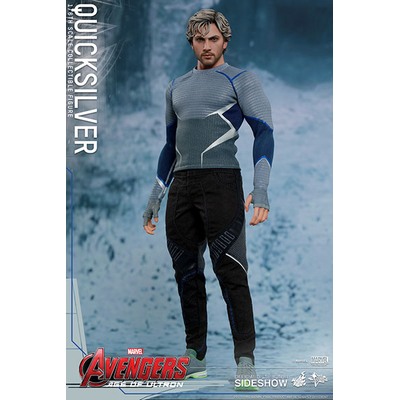 Figurine Avengers L'Ère d'Ultron Movie Masterpiece Quicksilver 30cm