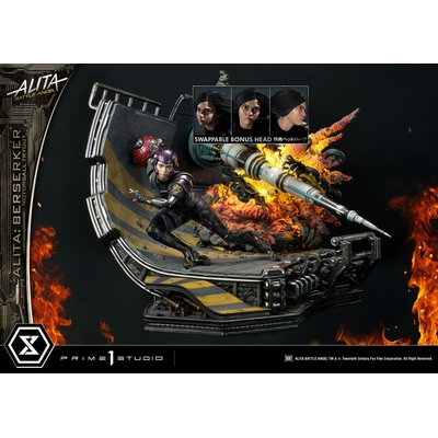 Statuette Alita Battle Angel Alita Berserker Motorball Tryout Bonus Version 64cm