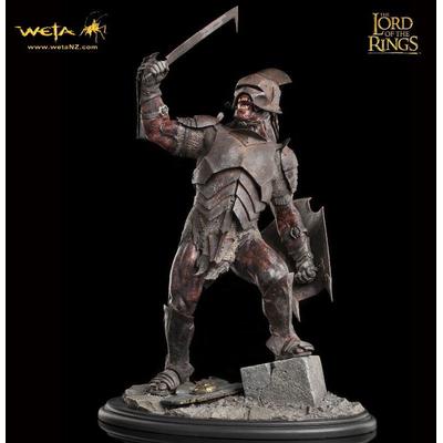 Statuette Le Seigneur des Anneaux Uruk-Hai Swordsman 43cm