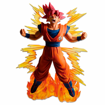 Statuette Dragon Ball Super Ichibansho Super Saiyan God Goku 20cm