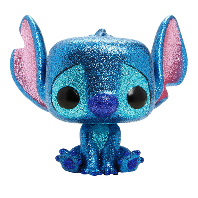 Figurine Lilo & Stitch Funko POP! Disney Stitch Seated Diamond Glitter Exclusive 9cm