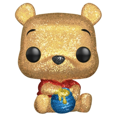 Figurine Winnie l´ourson Funko POP! Disney Seated Pooh Diamond Glitter 9cm