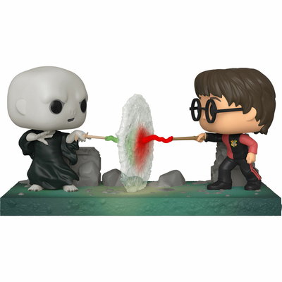 Figurine Harry Potter Funko POP! Movie Moment Harry VS Voldemort 9cm