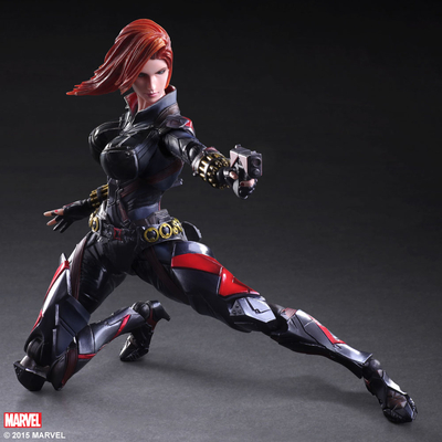 Figurine Marvel Comics Variant Play Arts Kai Black Widow 26cm