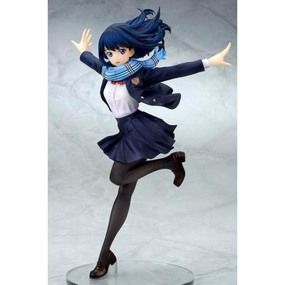 Statuette SSSS.Gridman Rikka Takarada School Uniform Ver. 22cm