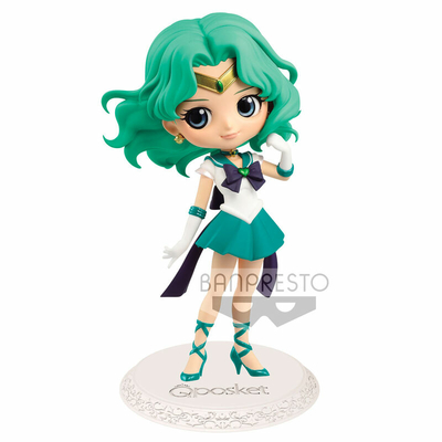 Figurine Sailor Moon Eternal The Movie Q Posket Super Sailor Neptune Ver. A 14cm