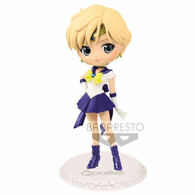 Figurine Sailor Moon Eternal The Movie Q Posket Super Sailor Uranus Ver. A 14cm