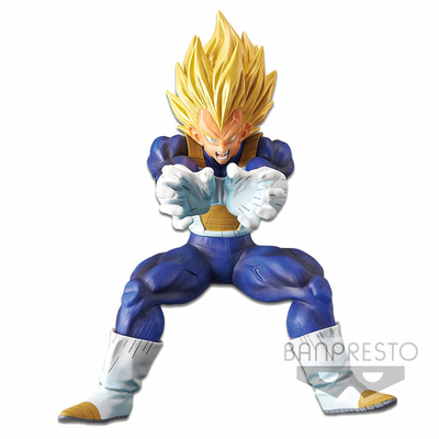 Figurine Dragon Ball Z Proud Super Elite's Final Attack Super Saiyan Vegeta Final Flash 16cm