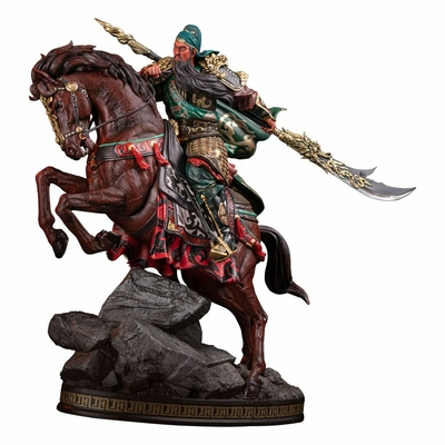 Statuette Three Kingdoms Generals Series Guan Yu Saint of War 40cm