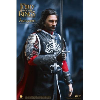 Figurine Le Seigneur des Anneaux Real Master Series Aragon 2.0 - 23cm