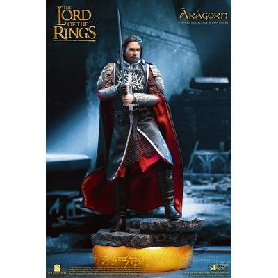Figurine Le Seigneur des Anneaux Real Master Series Aragorn Deluxe Version 23cm