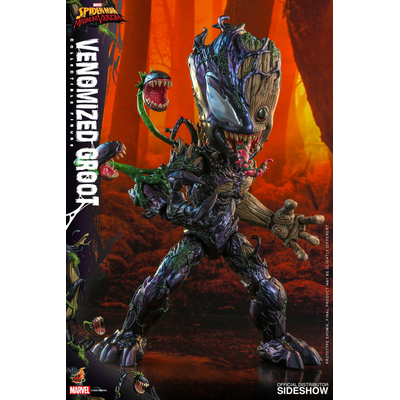 Figurine Marvel's Spider-Man Maximum Venom Artist Collection Venomized Groot 25cm