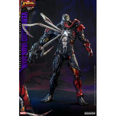 Figurine Marvel's Spider-Man Maximum Venom Artist Collection Venomized Iron Man 35cm