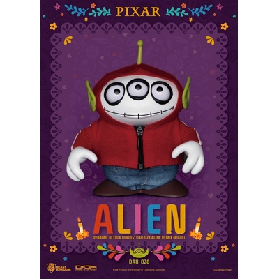 Figurine Toy Story Dynamic Action Heroes Alien Remix Miguel Coco 16cm