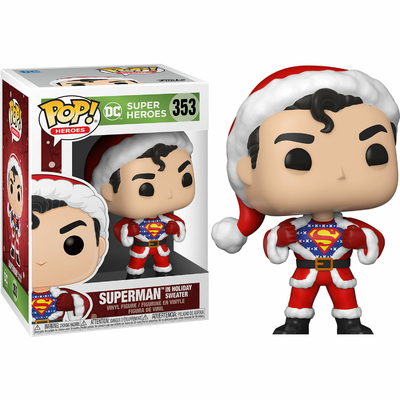 Figurine DC Comics Funko POP! DC Holiday Superman in Holiday Sweater 9cm