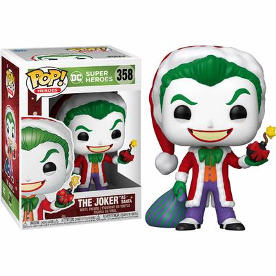 Figurine DC Comics Funko POP! DC Holiday The Joker as Santa 9cm