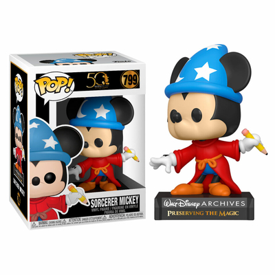 Figurine Mickey Mouse Funko POP! Disney Archives Sorcerer Mickey 9cm