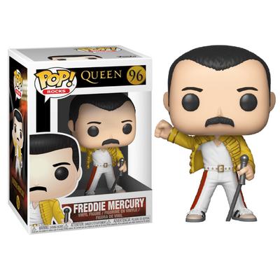 Figurine Queen Funko POP! Rocks Freddie Mercury Wembley 1986 9cm