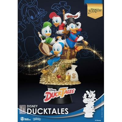 Diorama Disney Classic Animation Series D-Stage DuckTales 15cm