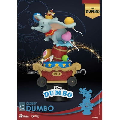 Diorama Disney Classic Animation Series D-Stage Dumbo 15cm