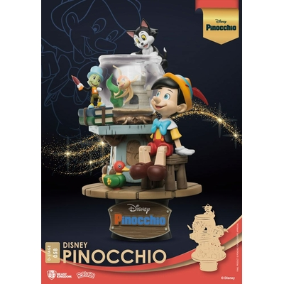 Diorama Disney Classic Animation Series D-Stage Pinocchio 15cm