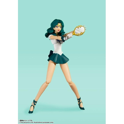 Figurine Sailor Moon S.H. Figuarts Sailor Neptune Animation Color Edition 15cm