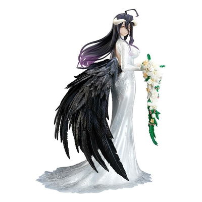 Statuette Overlord III Albedo Wedding Dress Version 23cm