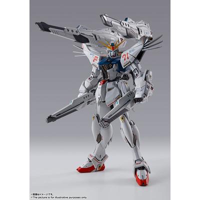 Figurine Metal Build Gundam F91 Chronicle White 18cm