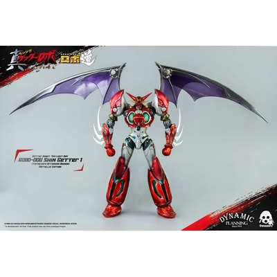 Figurine Getter Robot The Last Day Robo-Dou Shin Getter 1 Metallic Edition 23cm