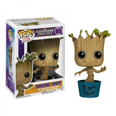 Figurine Les Gardiens de la Galaxie Funko POP! Bobble Head I am Dancing Groot 9cm