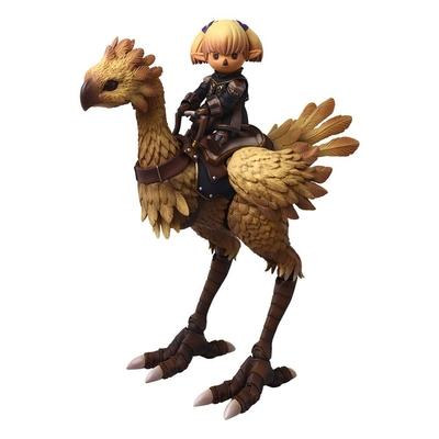Figurine Final Fantasy XI Bring Arts Shantotto & Chocobo 8 - 18cm
