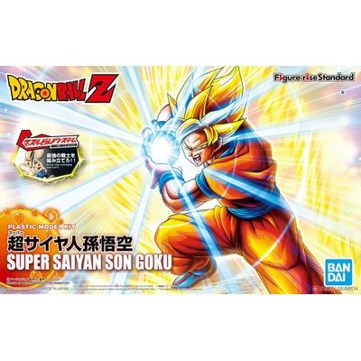 Maquette Model Kit Dragon Ball Z Rise Standard Super Saiyan Goku New Version 16cm