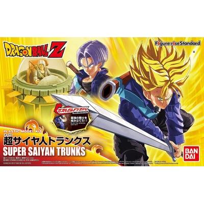 Maquette Model Kit Dragon Ball Z Super Saiyan Trunks 14cm
