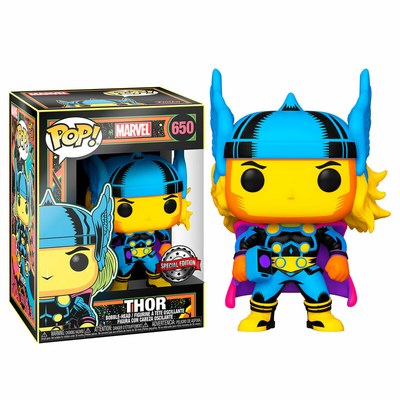 Figurine Marvel Funko POP! Marvel Black Light Thor 9cm