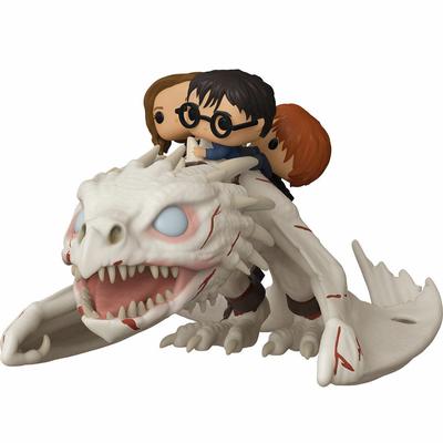 Figurine Harry Potter Funko POP! Dragon with Harry, Ron, & Hermione 15cm