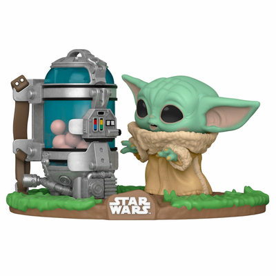 Figurine Star Wars The Mandalorian Funko POP! The Child Egg Canister 9cm