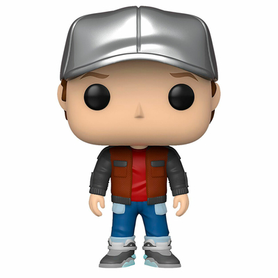 Figurine Retour vers le Futur Funko POP! Marty in Future Outfit 9cm